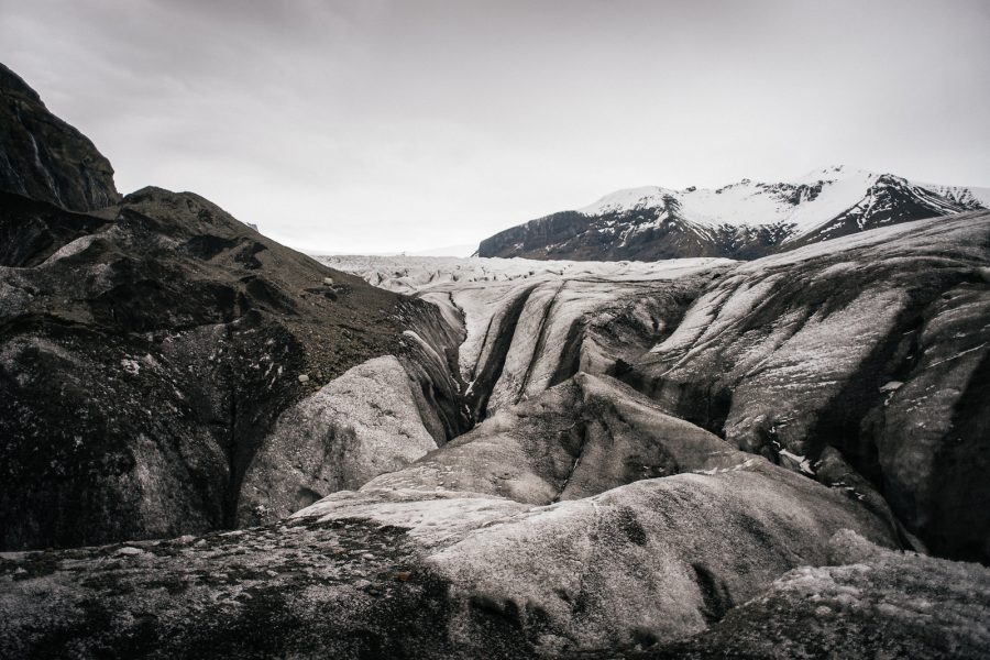 Picturesque Icelandic Glaciers