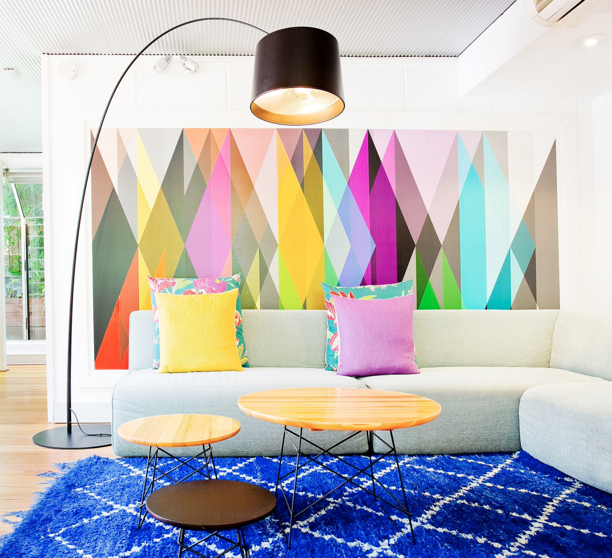 Creative Ways To Decorate Your Home With Geometric Pattern