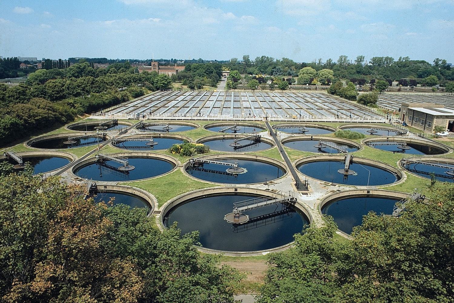 Mogden-sewage-treatment-works